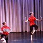 Отчетный концерт хореографического отделения, декабрь 2015г. Китайский танец