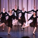 Отчетный концерт хореографического отделения, декабрь 2015г. Русский этюд, 7 классы