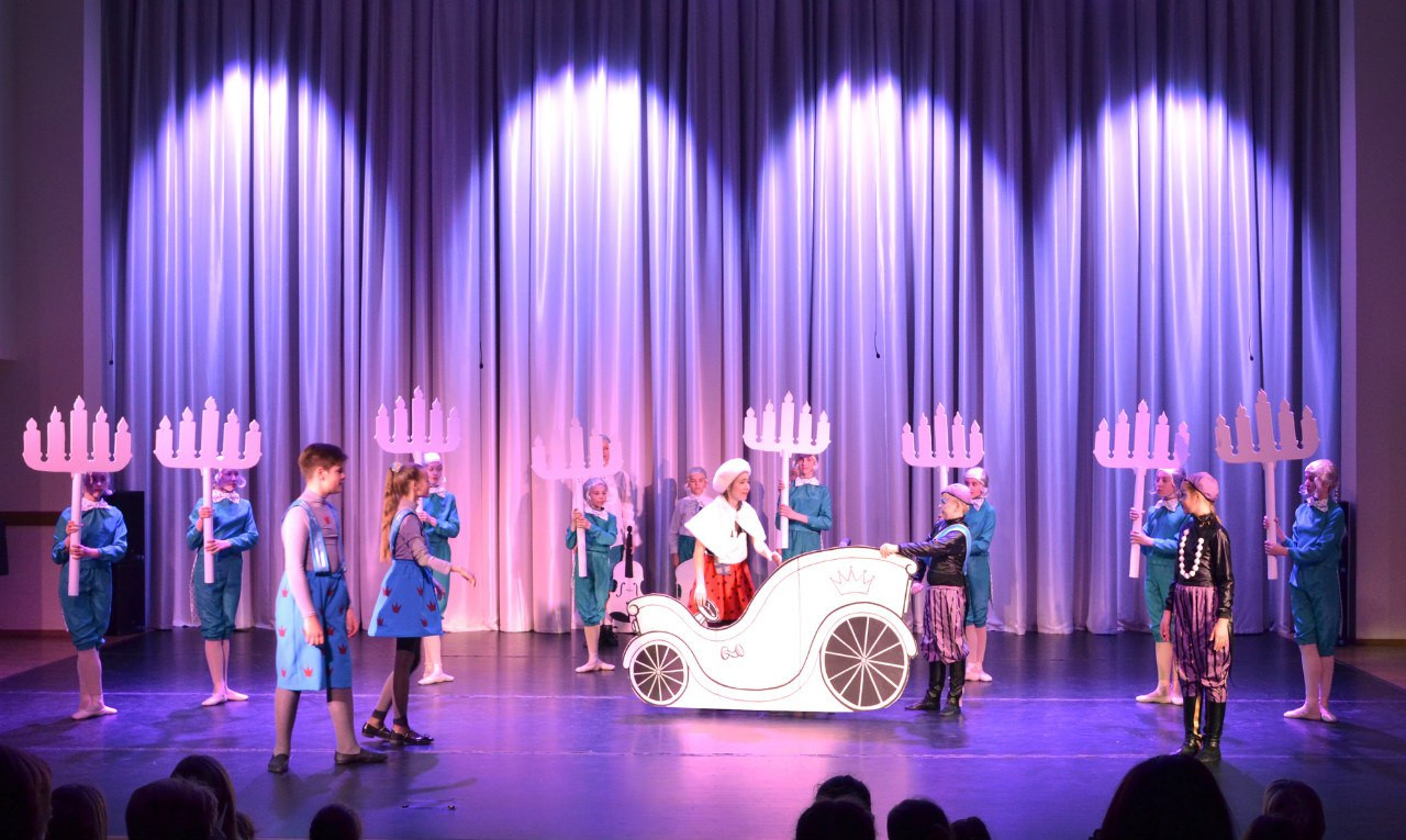 музыка к детским спектаклямснежная королева