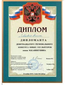 Лобкова Алиса Аникушина