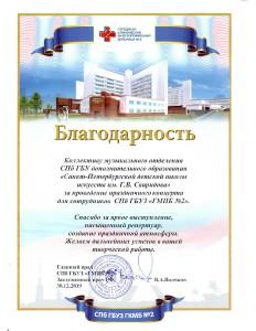 Благодарность от СПб ГБУЗ ГМКБ № 2_page-0001